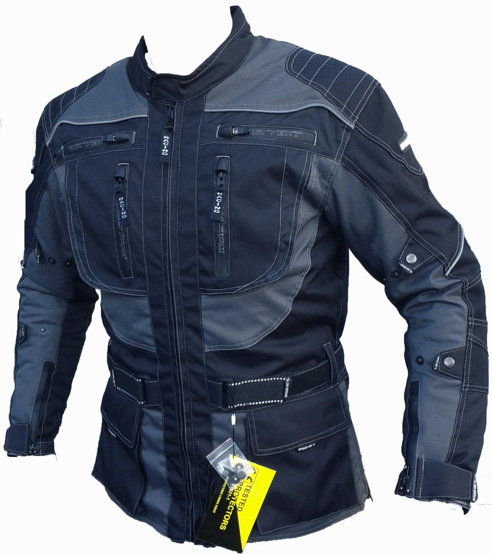 Speed Devil Damen Motorradjacke Textiljacke LadyPink Gr M