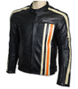 Motorrad-Lederjacke SPEED DEVIL Retro